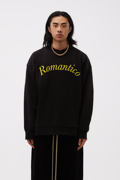 Second / Layer - Romantico Crew Pullover Black