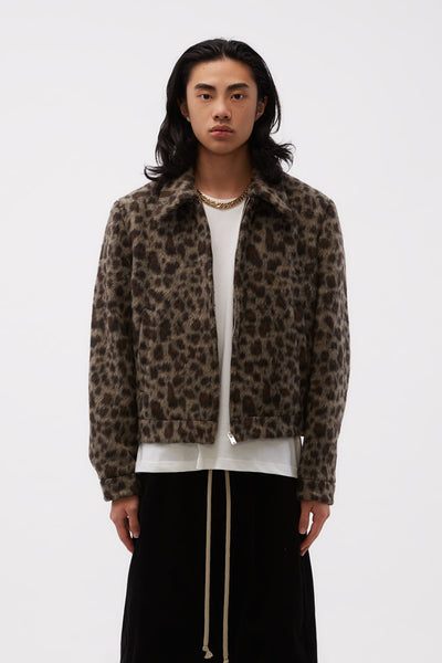 Second / Layer - Filero Fur Jacket Leopard