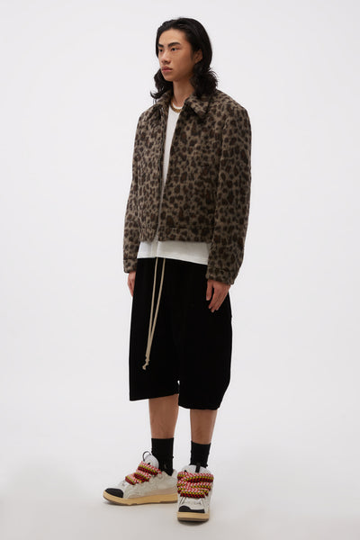 Filero Fur Jacket Leopard
