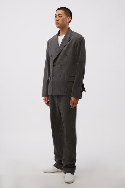 Pico Blazer Charcoal/Yellow Stripe