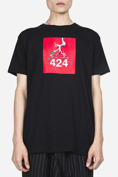 424 - Anniversary Collaboration Tee Black