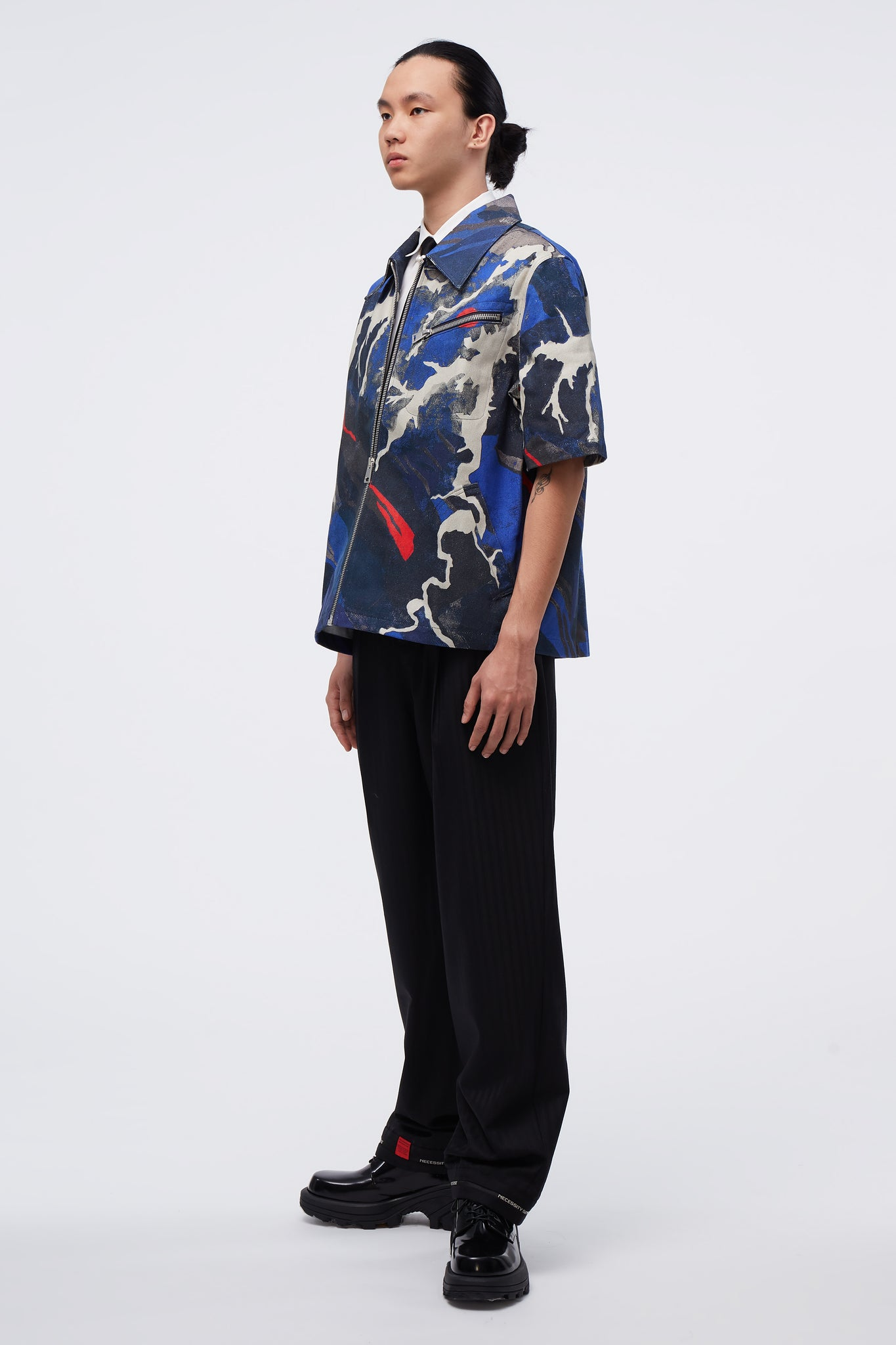 Moses Short Sleeve Jacket Miyako