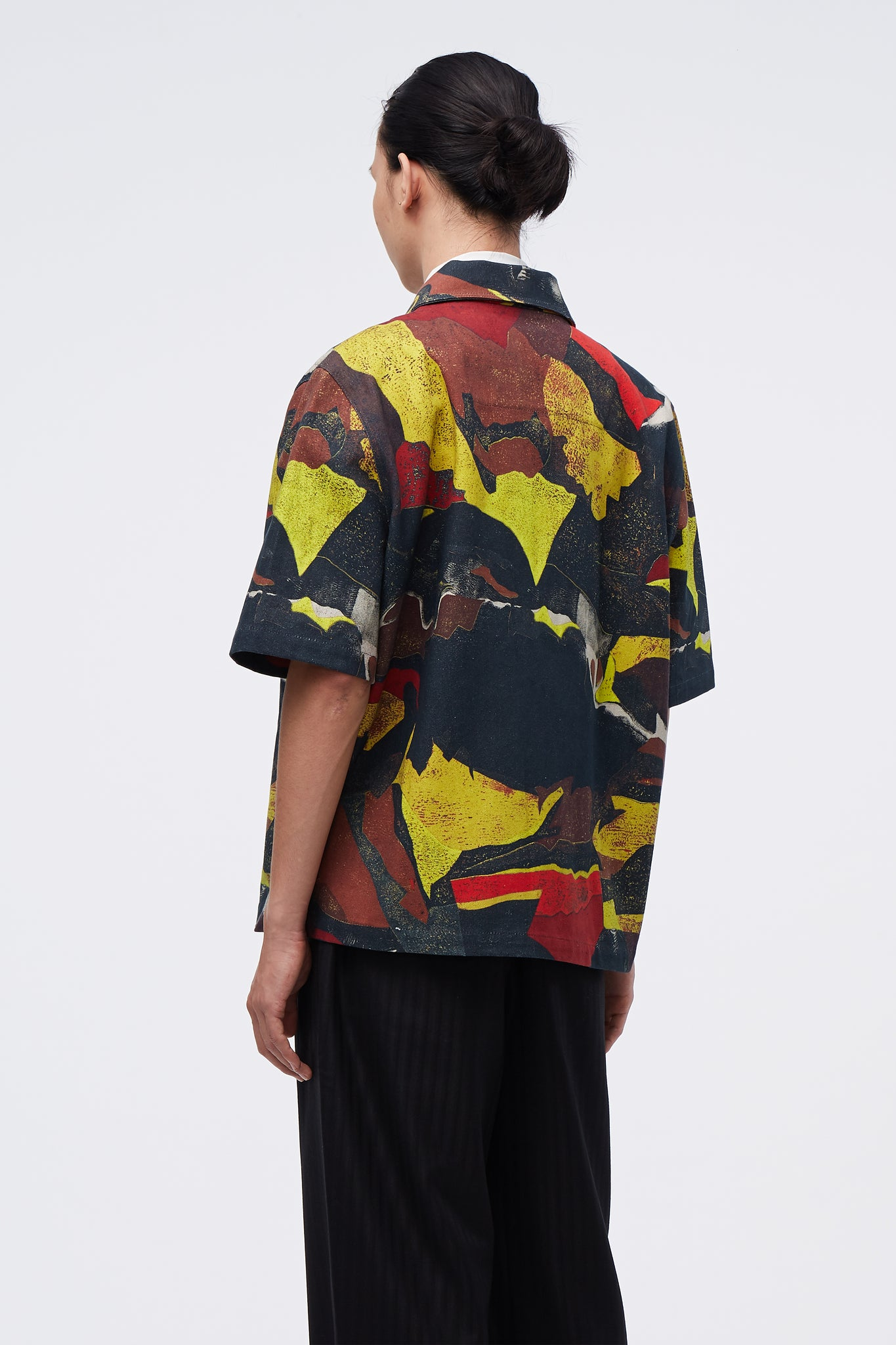 Moses Short Sleeve Jacket Japonisme