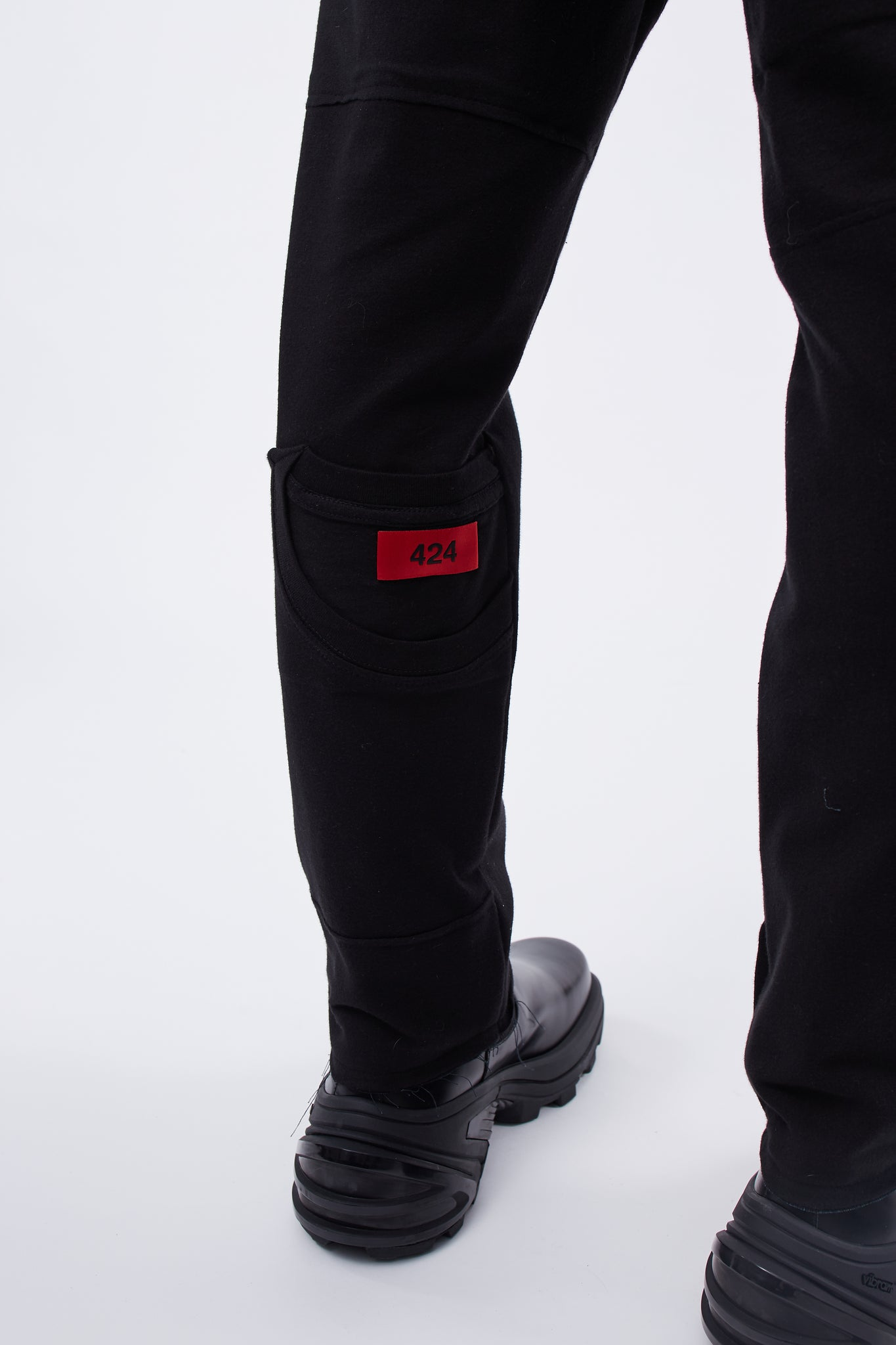 Reworked Tee Workpant Black