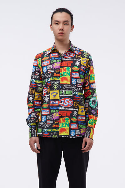 SSS World Corp - Sponsors Multi Coloured L/S Shirt