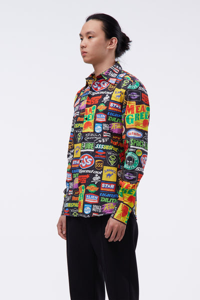Sponsors Multi Coloured L/S Shirt