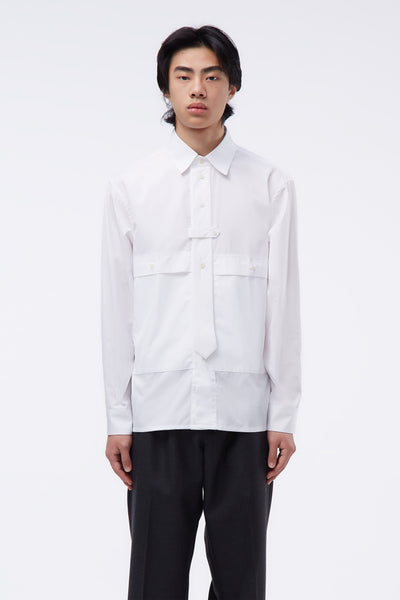 GR-Uniforma - Tie Shirt White