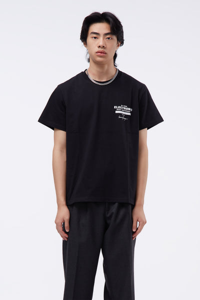 Second / Layer - EBM Lock Up T-shirt Black