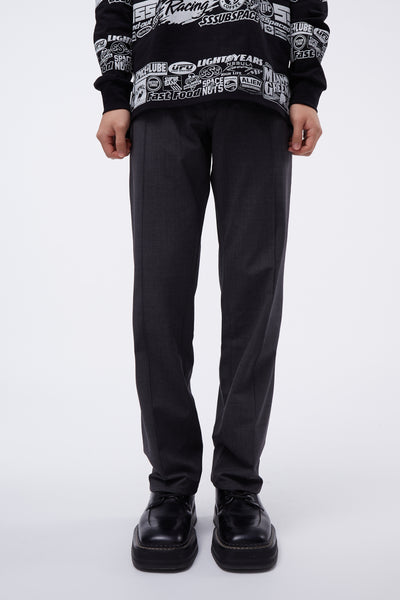 Second / Layer - Track Pant Grey Melange