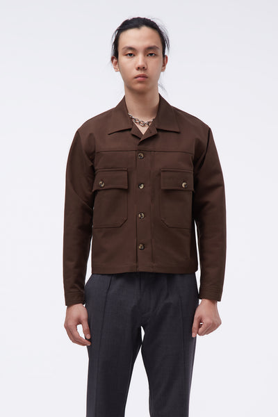 Second / Layer - Svw Service Jacket Espresso