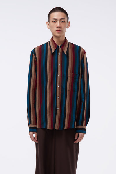 Lemaire - One Pocket LS Shirt Multicolor