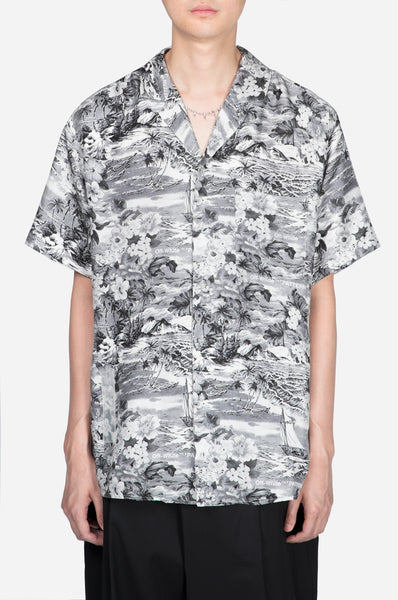 Off-White - Hawaian Shirt Black & White