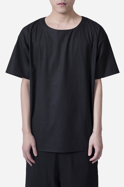Second / Layer - SS Structured Shirt Black