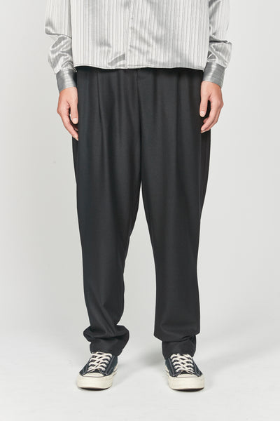 Closed Window - Dan Wide Leg Carrot Trousers Dry Onyx