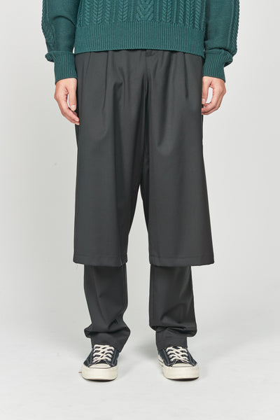 Closed Window - Geoff Double Layered Trouser Dry Onyx