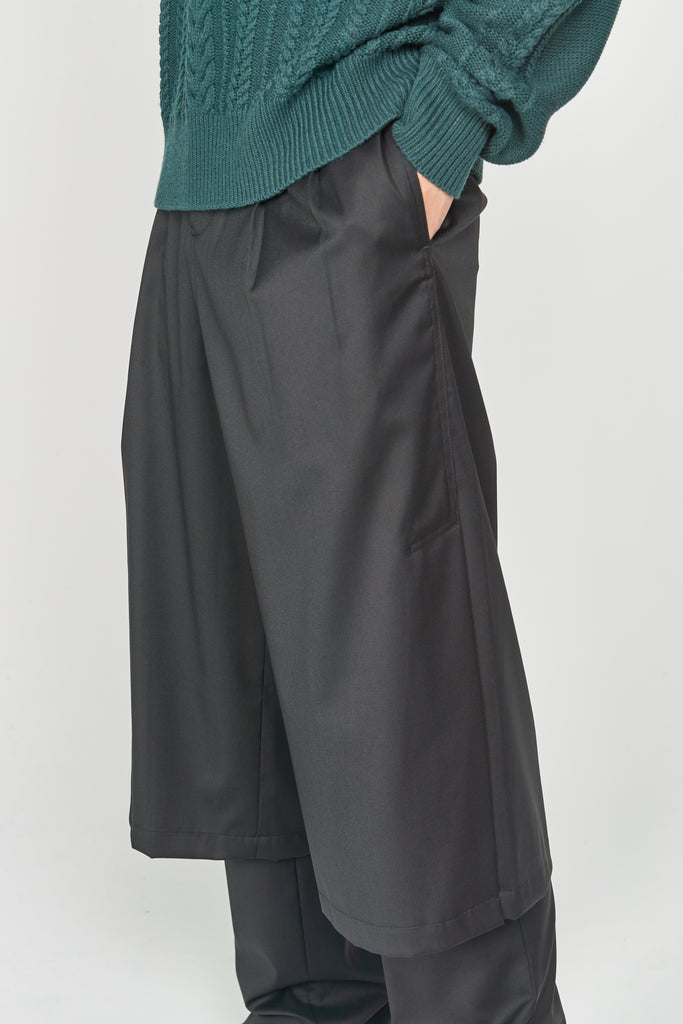 Geoff Double Layered Trouser Dry Onyx