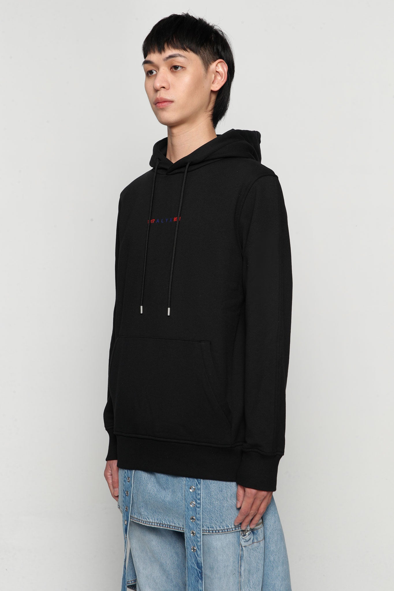 Logo Collection Hoodie Black
