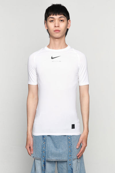Alyx - Nike Collab Short Sleeve T-shirts Glitter White
