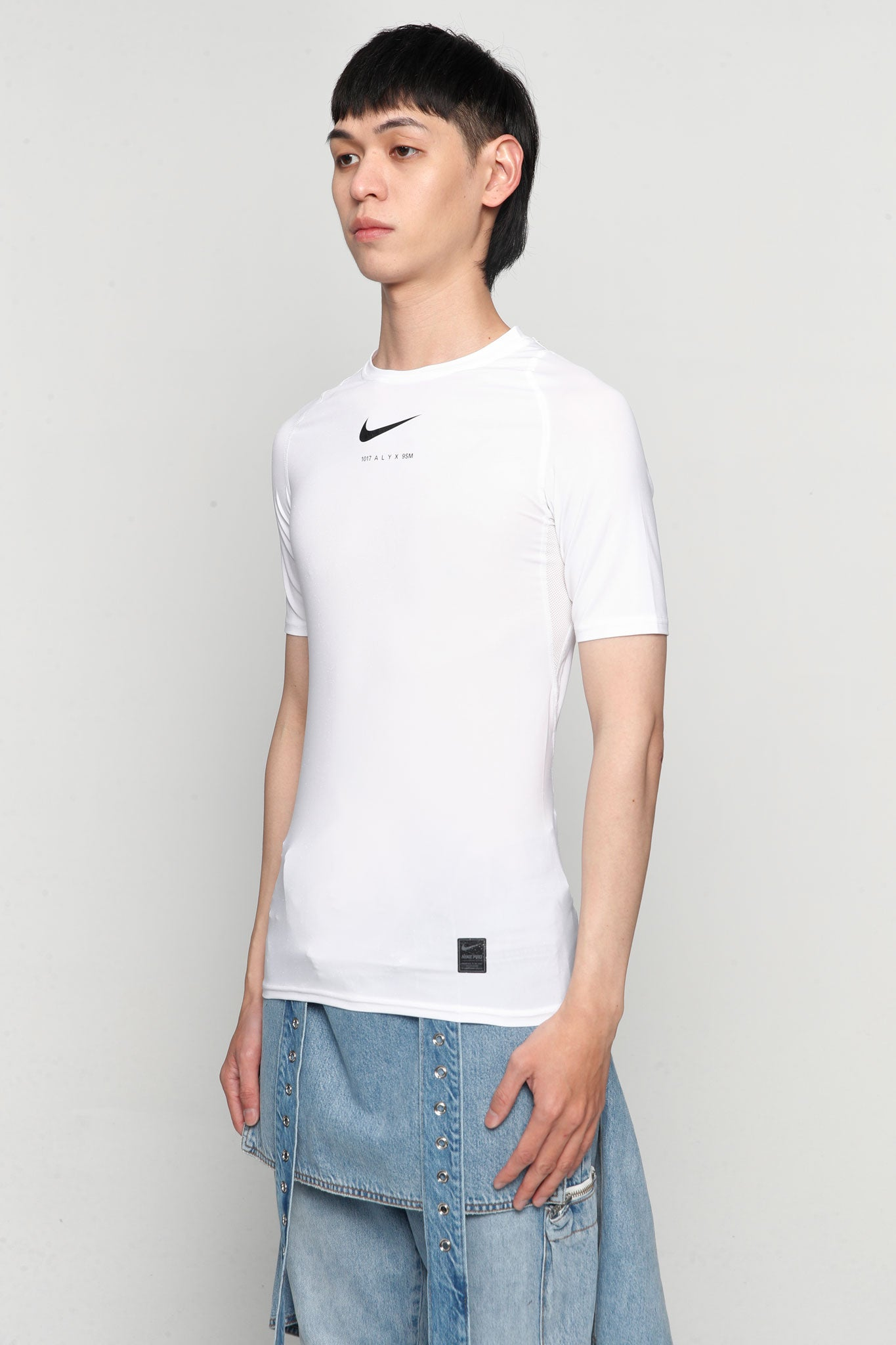 Nike Collab Short Sleeve T-shirts Glitter White