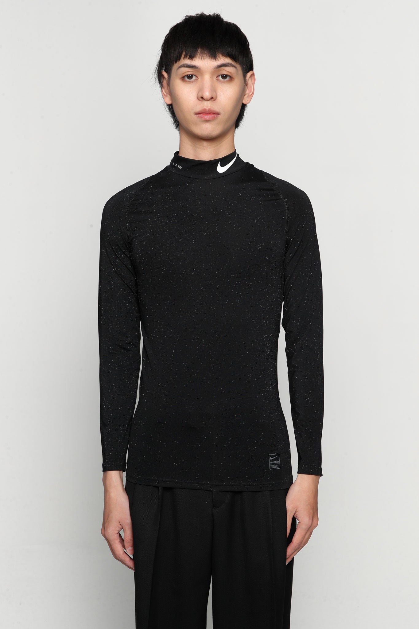 Nike Collab Training L/s Tee Glitter Black