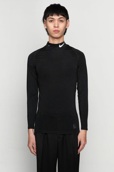 Alyx - Nike Collab Training L/s Tee Glitter Black