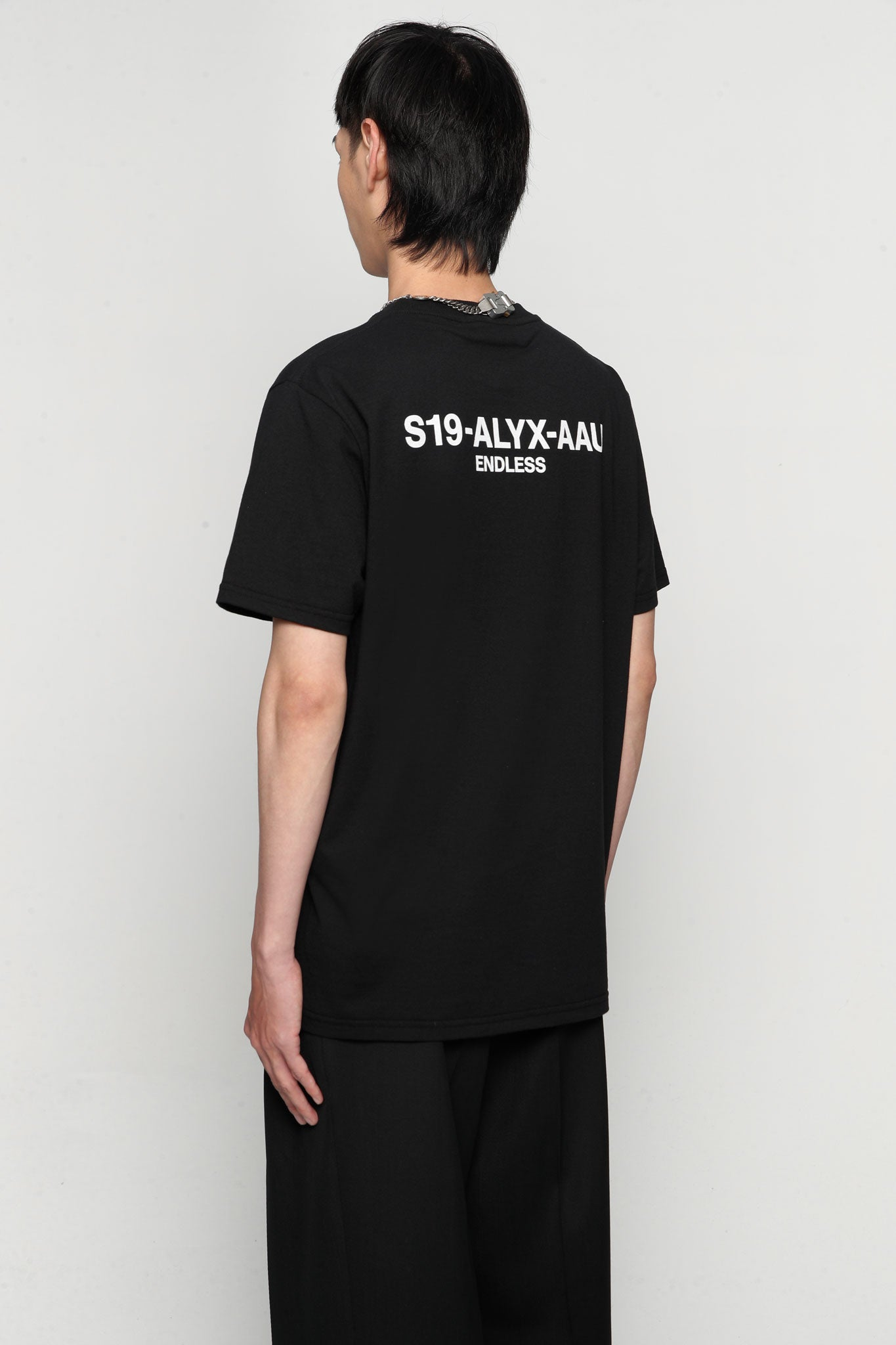 Collection Code Tee Black
