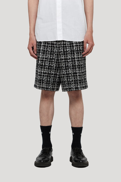 Needle In The Sea - Sail Pleats Trunk Shorts Dry Onyx Galaxy