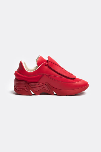 RAF SIMONS (RUNNER) - Antei Synthetic Burgundy