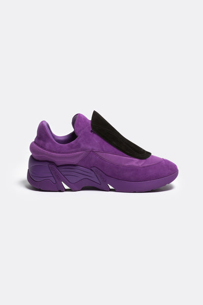 Antei Leather Purple Suede