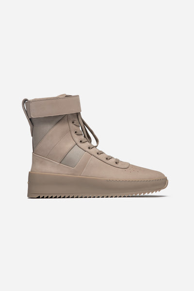 Fear of God - Military Leather Sneakers Desert Beige