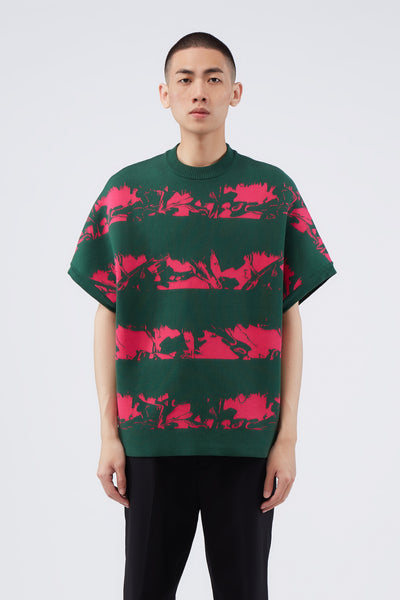 Act Of Desire - Tsuno Tee Croc Green + Punch Pink