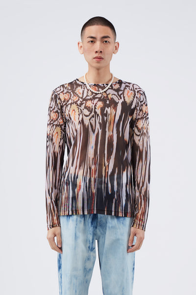 Our Legacy - Delicate Long sleeve Hanabi Print