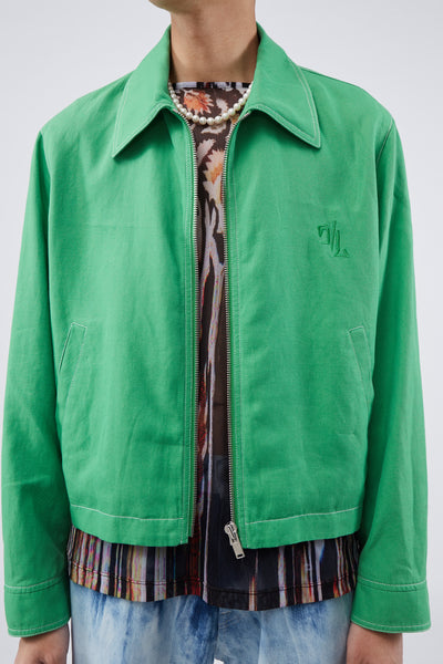 Rocker Blouson Green