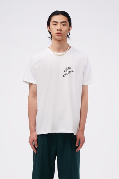 Second / Layer - Con Amor T-Shirt White