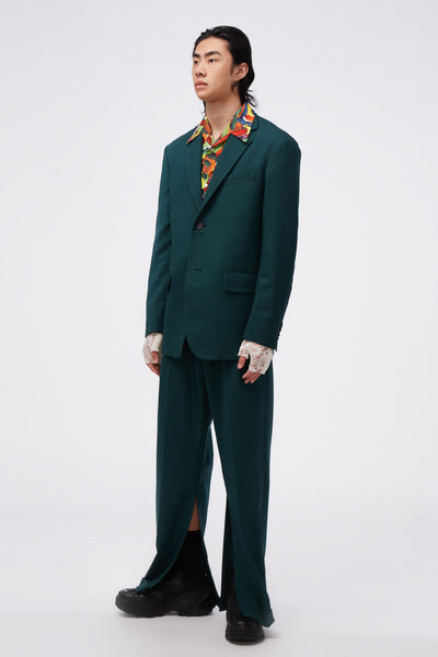 Single-breasted Blazer Bayberry Green