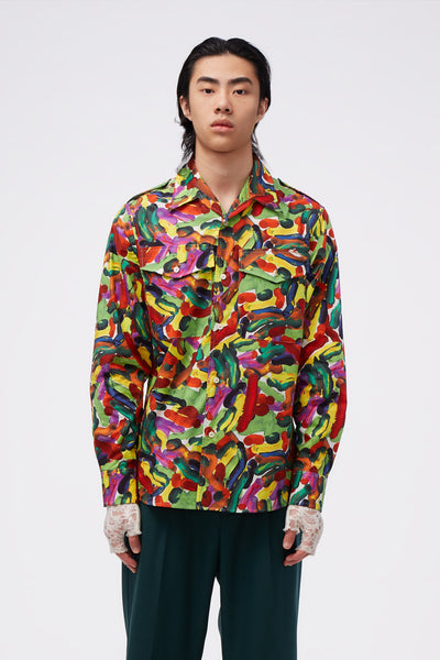 Marni - L/S Shirt Maize Printed