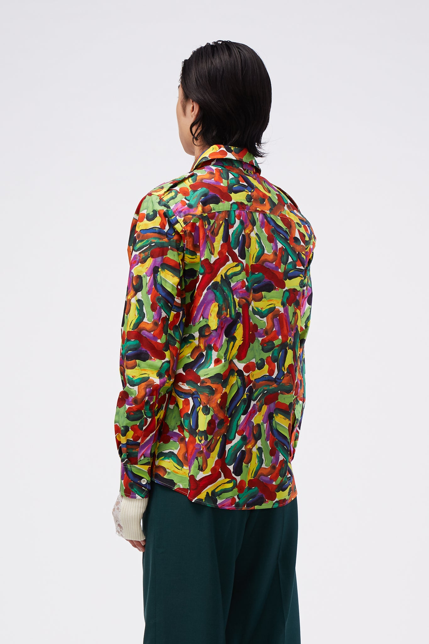 L/S Shirt Maize Printed