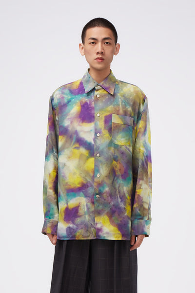 Marni - L/S Shirt Yellow Tie Dye