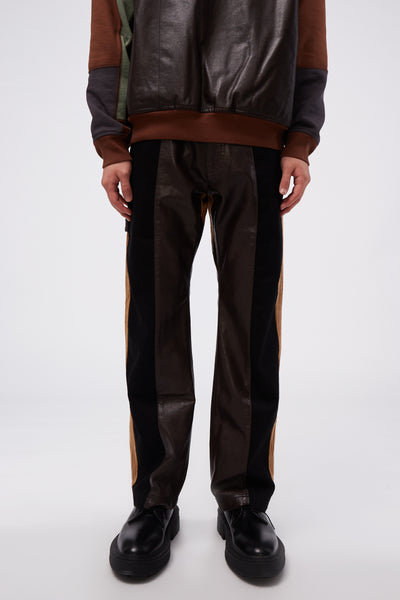 GR-Uniforma - Denim Pant Black/Brown