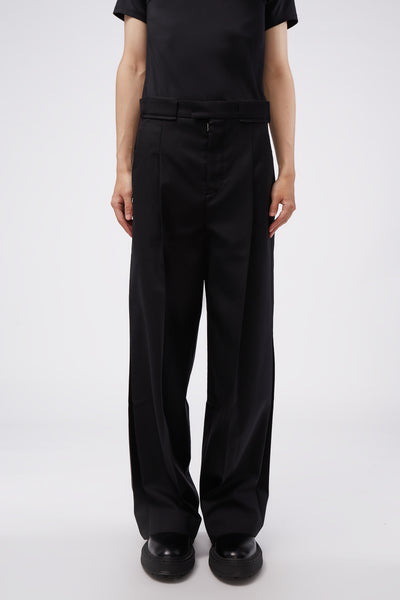 Maison Margiela - Wide Suit Trousers Black