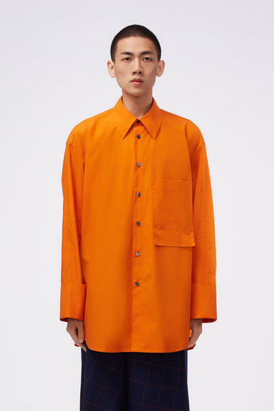 WOOYOUNGMI - LS Shirt Orange