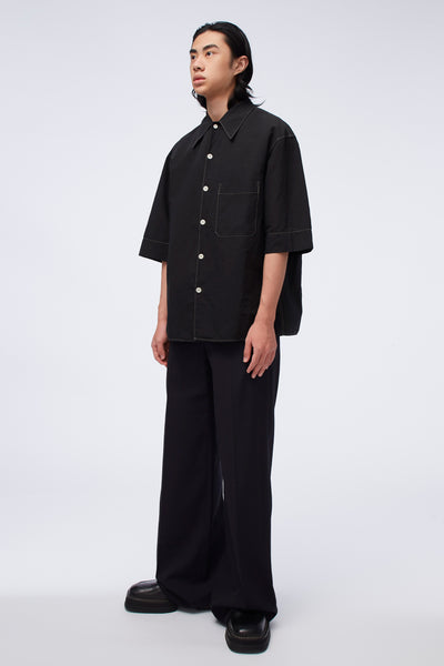 Wide Leg Pants Caviar