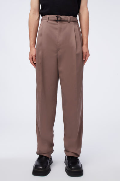 Lemaire - Belted Pleat Pants Iron