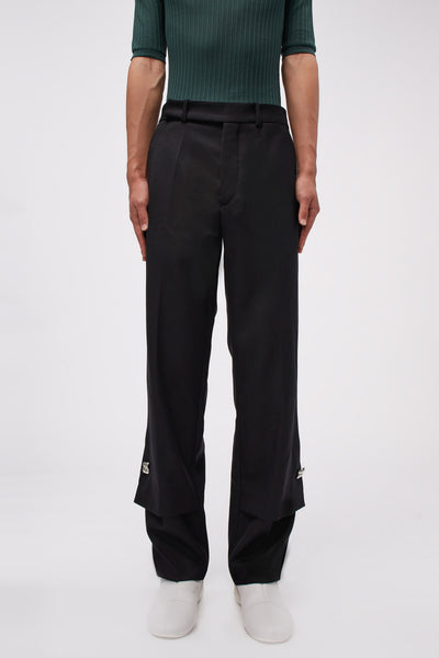 NAMACHEKO - Hirse Flap Trousers Black