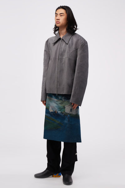 Irmgard Jacket Marble Grey