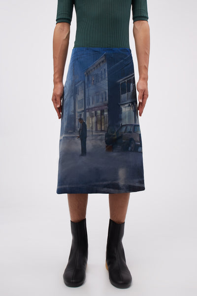 NAMACHEKO - Gregory Skirt Black Rain