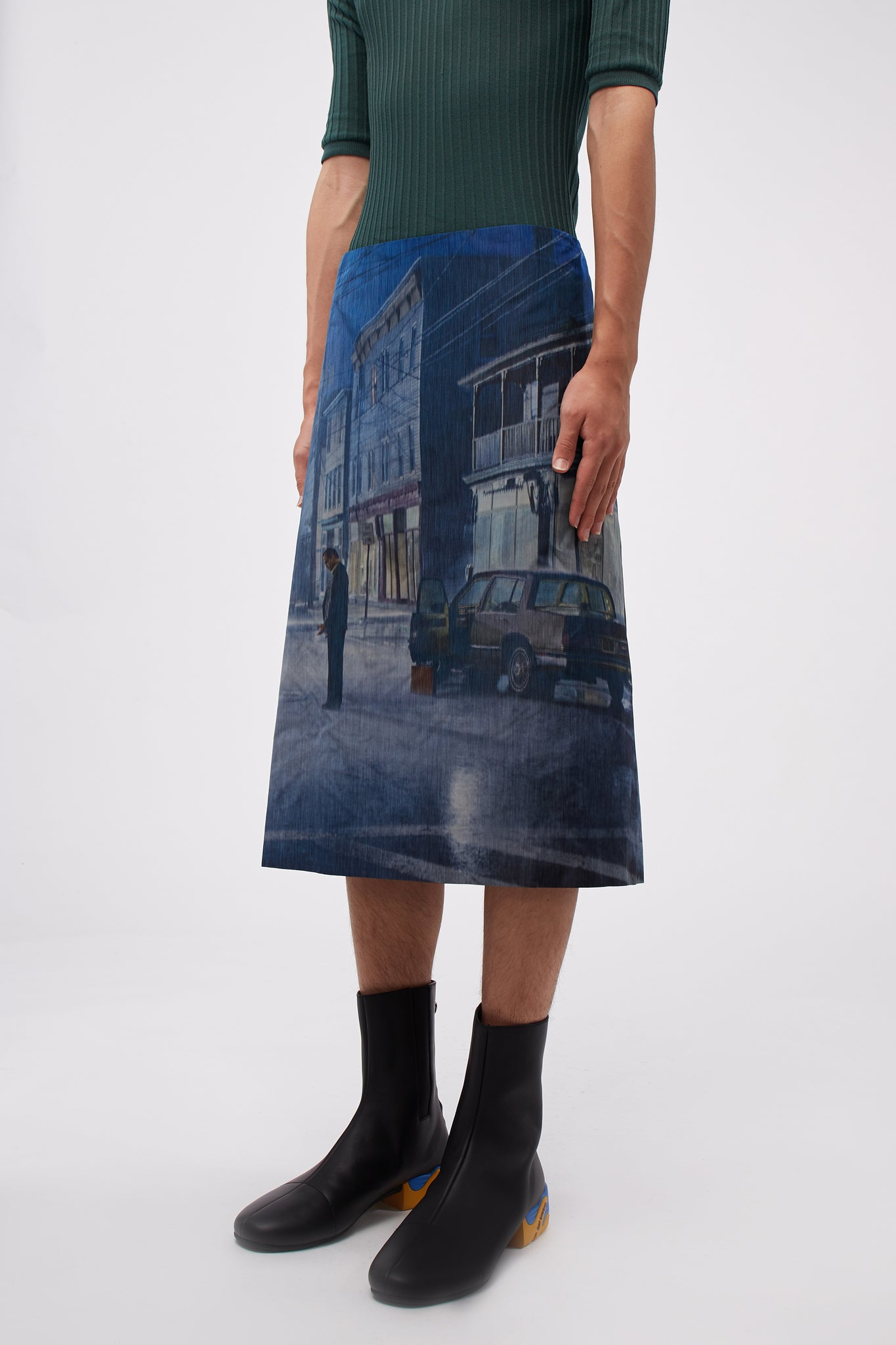 Gregory Skirt Black Rain