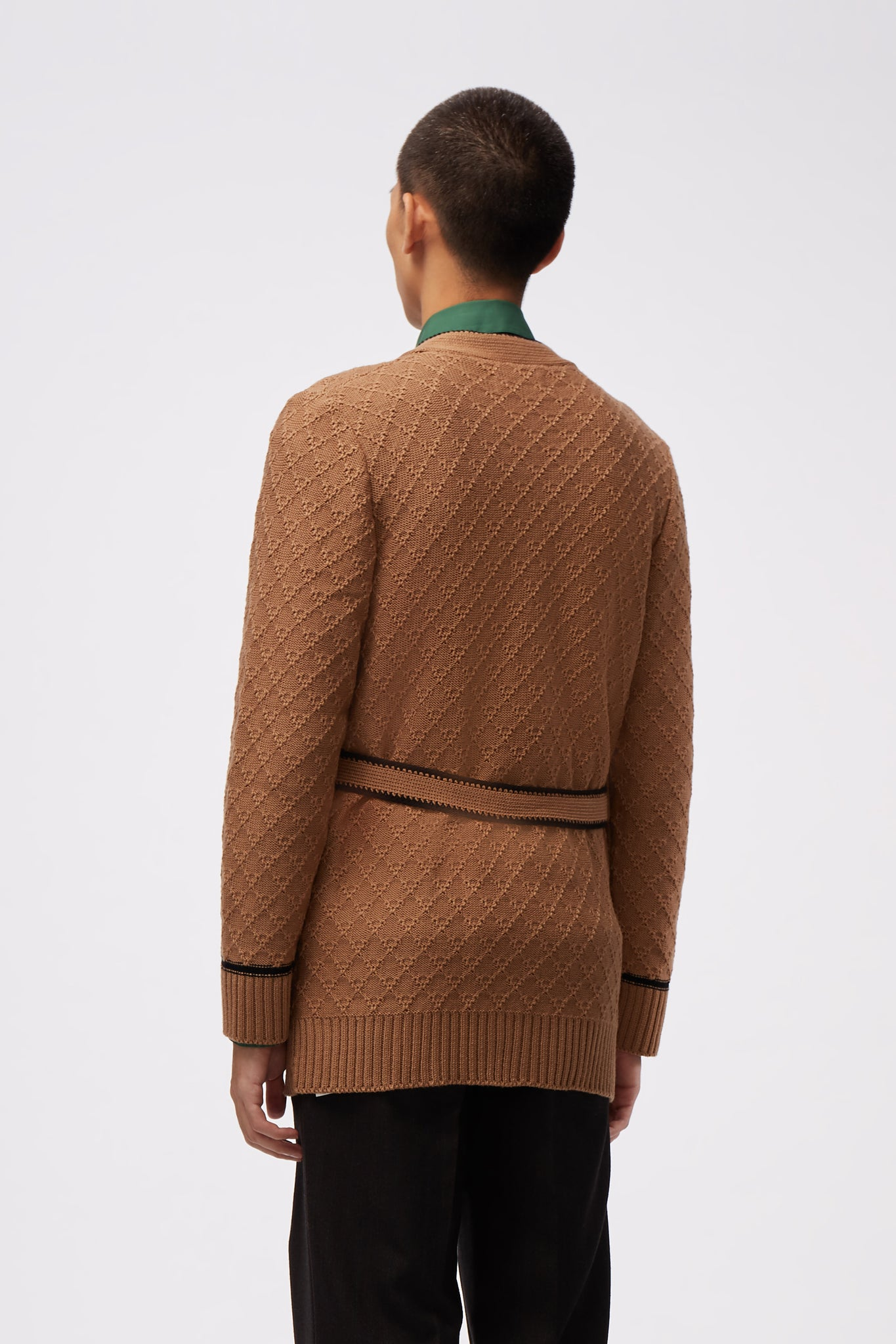 Smoking Cardigan Camel
