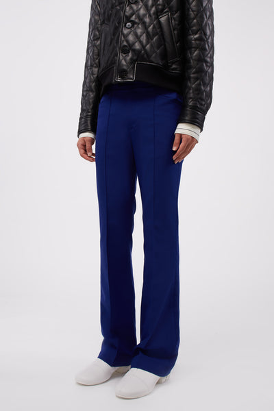 Flare Trousers Cobalt Blue