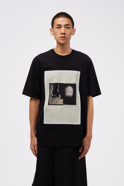 Song for the mute - Tunnel Oversized Tee Black